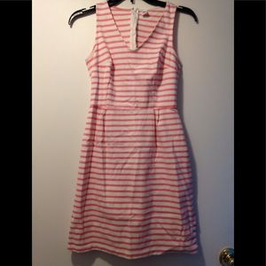 Old Navy dress pink white - XS